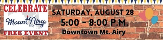Celebrate Mount Airy Banner