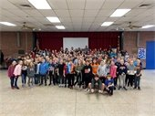 Mount Airy Elementary Fourth Graders