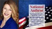 National Anthem by Karleigh Hubble