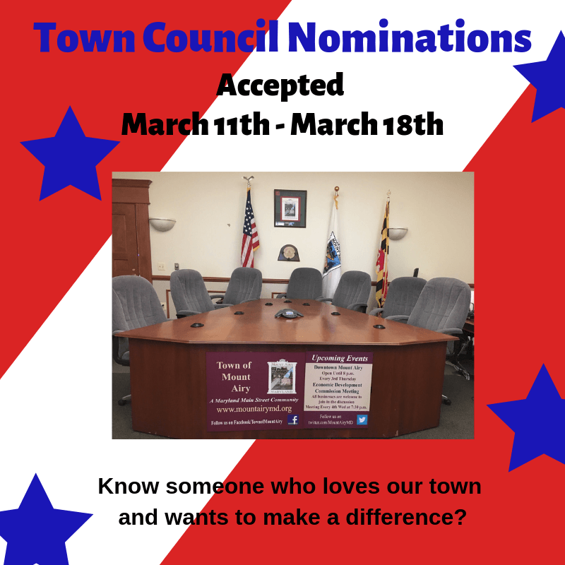 Town Council Nominations