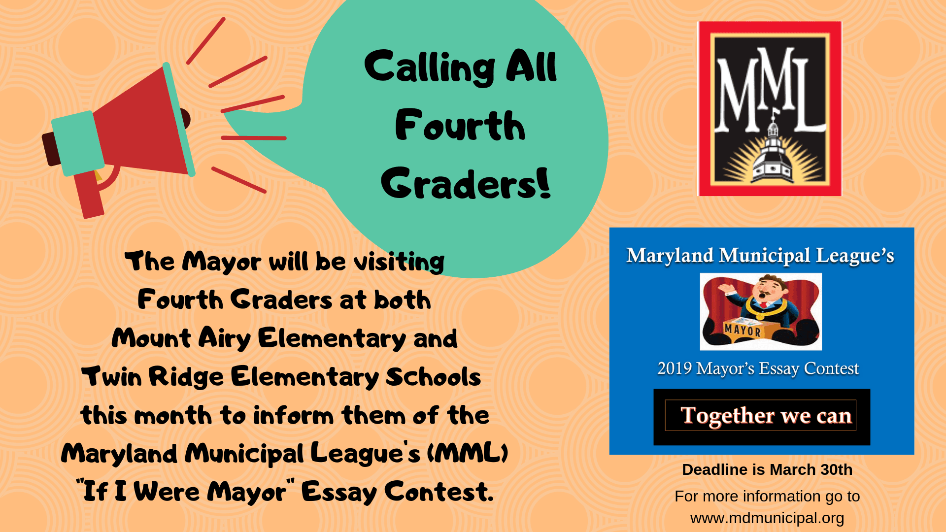 Calling All Fourth Graders!
