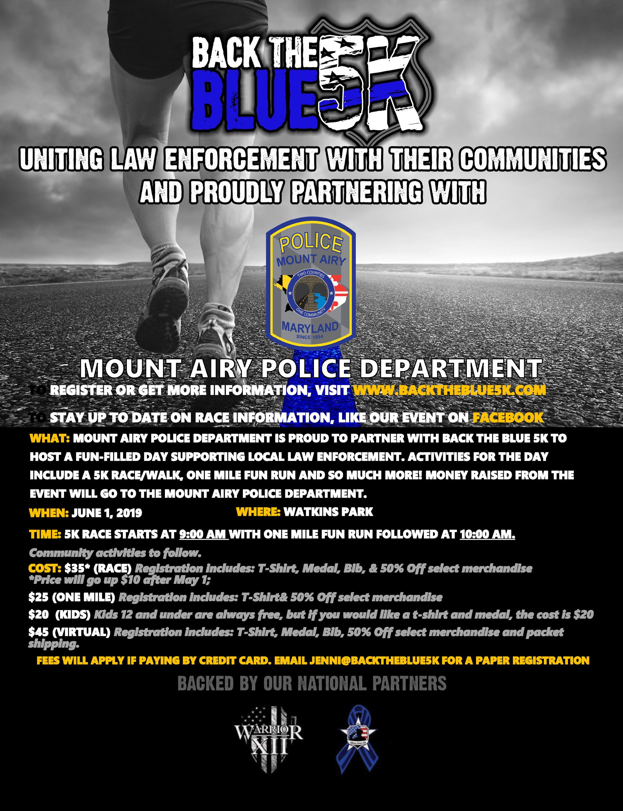 Event Flyer - Mount Airy PD