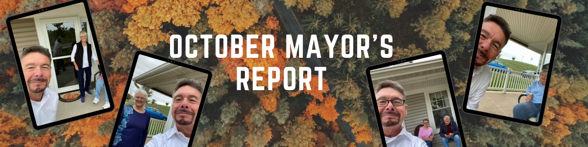 Mayor's Report October