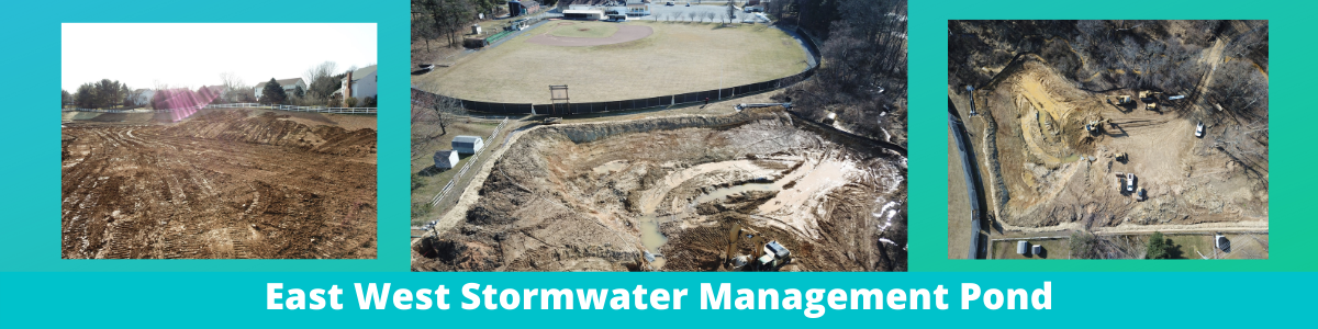 East West Stormwater Management Pond