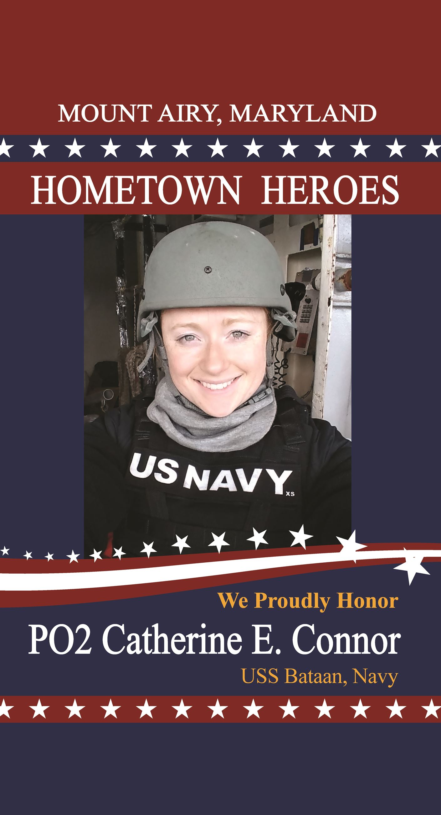 CatherineEConnor_MtAiryHeroes-Flag-24x44-Proof002