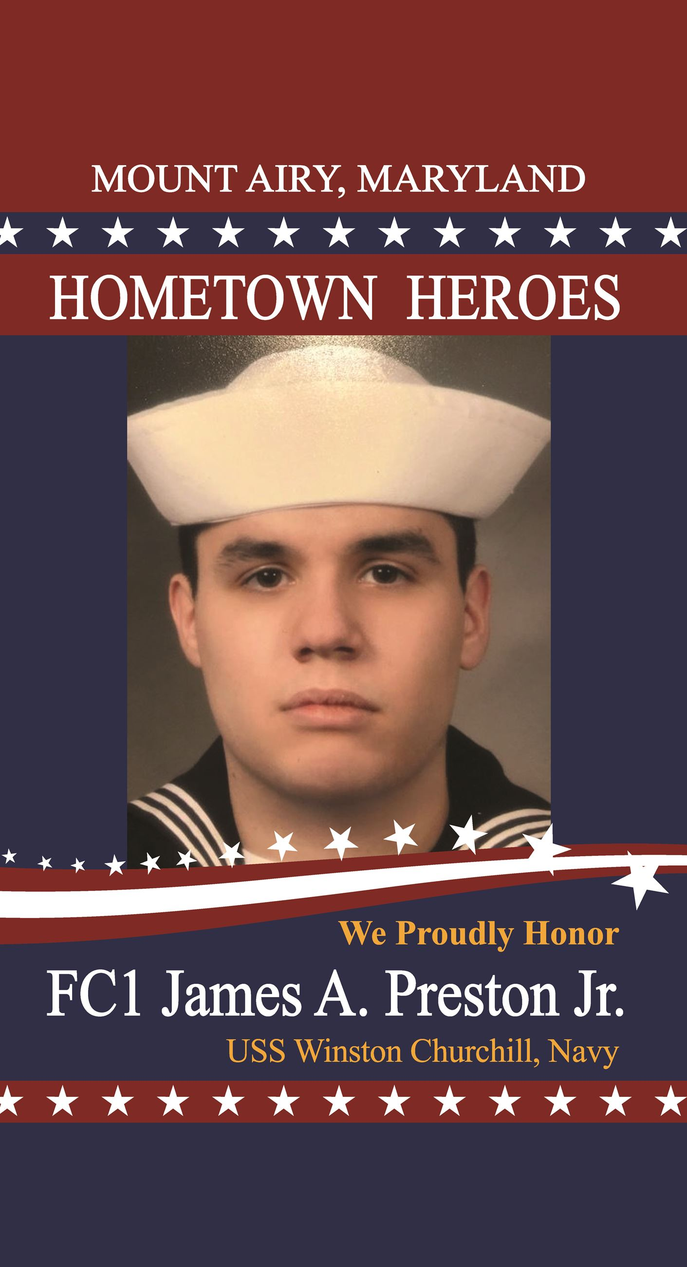 JamesAPrestonJr_MtAiryHeroes-Flag-24x44-Proof001